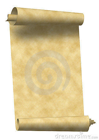 Free Vintage Scroll Paper Stock Photo - 1553690