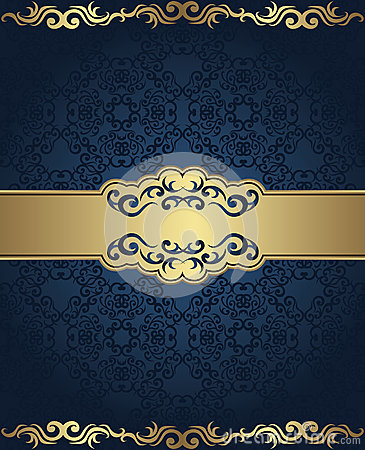 Vintage seamless damask background
