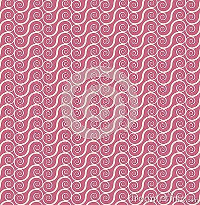 Vintage seamless monochrome geometrical pattern