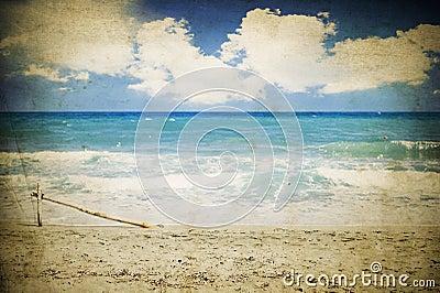 Vintage seascape