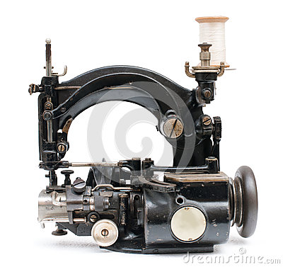 Free Vintage Sewing Machine Royalty Free Stock Photography - 36282777
