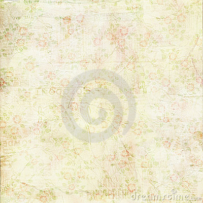 Free Vintage Shabby Chic Green Rose Background Texture Royalty Free Stock Image - 20987116