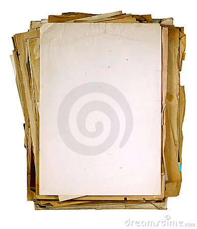 Free Vintage Sheets Of Newspaper Royalty Free Stock Image - 8993436