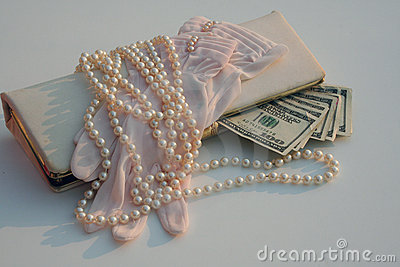 Vintage shopping money