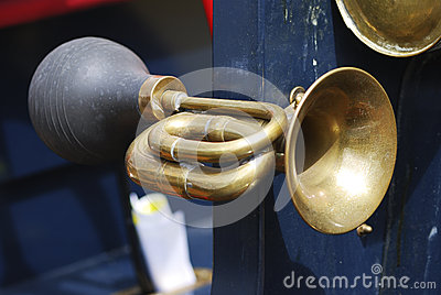Vintage Signal Horn