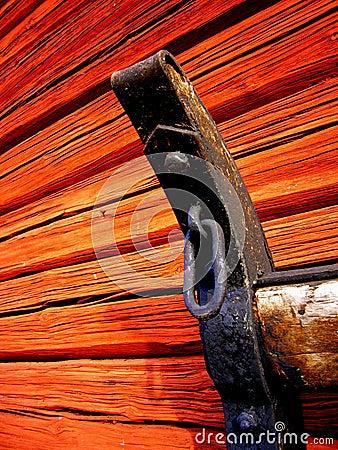 Vintage sled detail