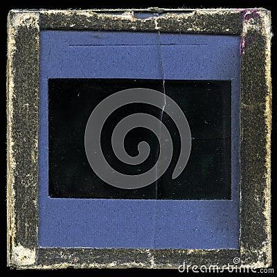 Vintage slide frame