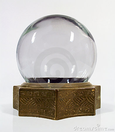 Vintage snow globe