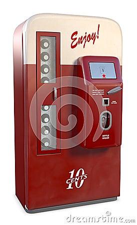 Free Vintage Soda Machine Stock Images - 7591784