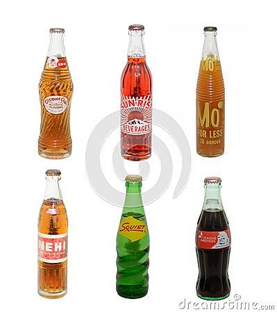 Vintage Sodas Editorial Photography