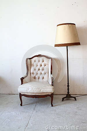 Free Vintage Sofa In The Room Royalty Free Stock Photo - 27560255