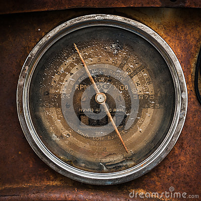 Free Vintage Speedometer Stock Photos - 34675043