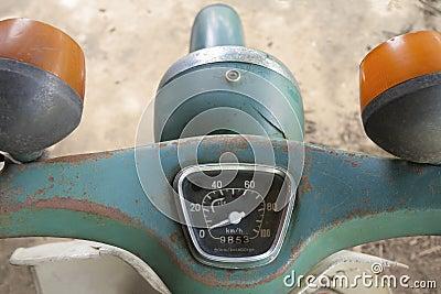 Vintage Speedometer  japanese motorcycle