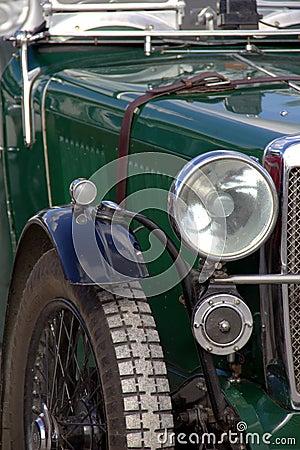 Vintage sportscar