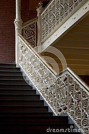 Vintage stairways