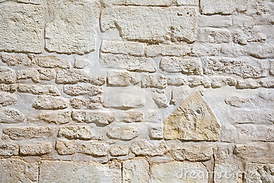 Vintage stone wall
