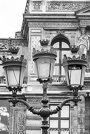 Free Vintage Street Lantern In Paris, France Stock Photos - 39559173