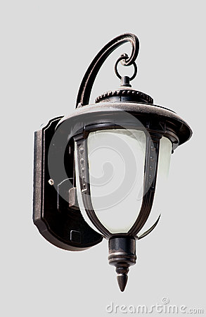 Vintage street light lamp