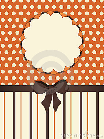 Vintage striped background border