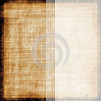 Vintage Striped Fabric