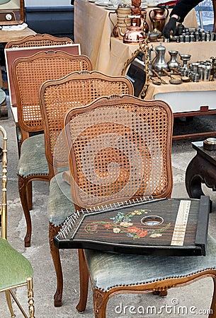 Vintage stuff flea market