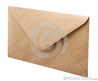 Vintage style envelope