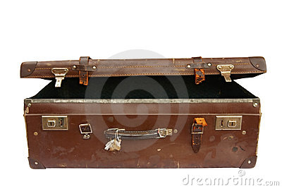 Vintage Suitcase (with Path)