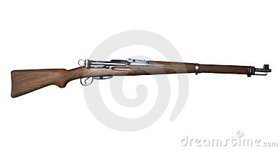 Vintage Swiss Rifle Stock Image - Image: 23691821