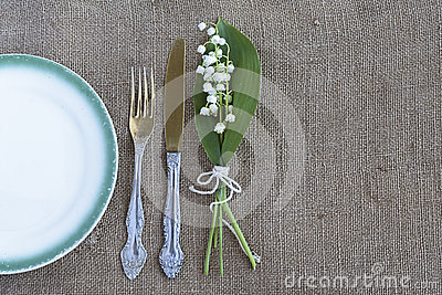 Table Setting Background vintage table setting stock photo - image: 71216461