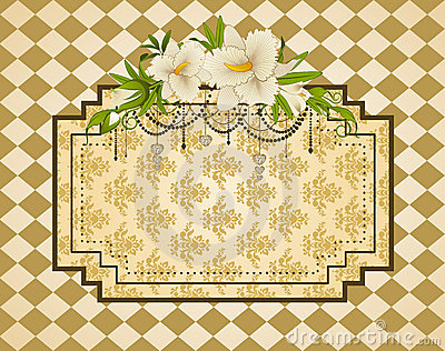 Vintage tapestry background.