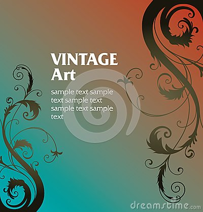 Vintage Template Frame Royalty Free Stock Photos - Image: 8570468