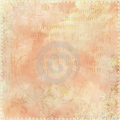 Vintage text antique background theme