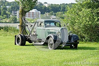 Vintage Town Truck