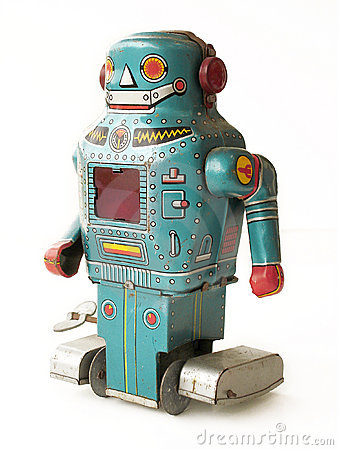 Free Vintage Toy Robot Royalty Free Stock Images - 4687519