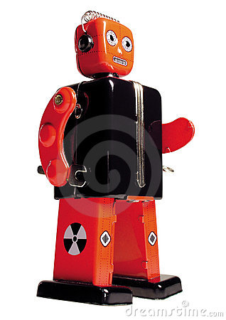 Free Vintage Toy Robot Royalty Free Stock Images - 84049