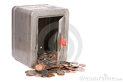 Vintage Toy Safe And Money