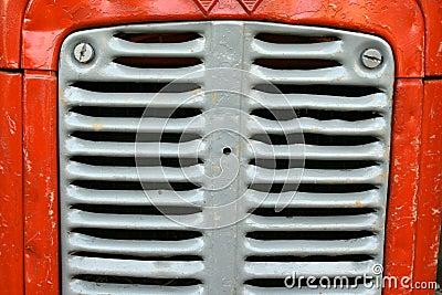 Vintage tractor ribs