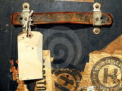 Vintage Travel Case Stickers And Labels Royalty Free Stock Images - Image: 4517879