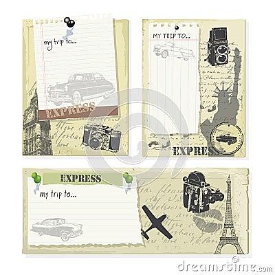 vintage trip tags