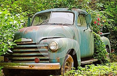 Vintage Truck/Flower Planter