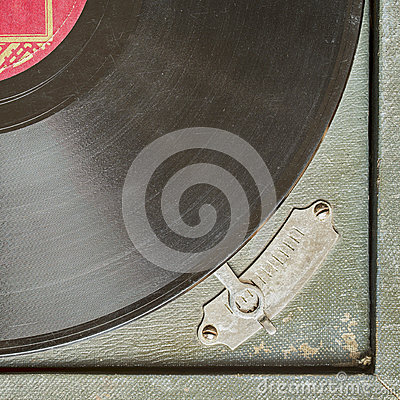 Free Vintage Turntable Vinyl Record Player Stock Photography - 87735372