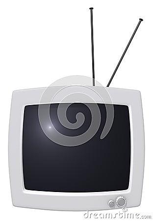 Vintage tv monitor