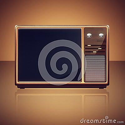 Vintage TV-set