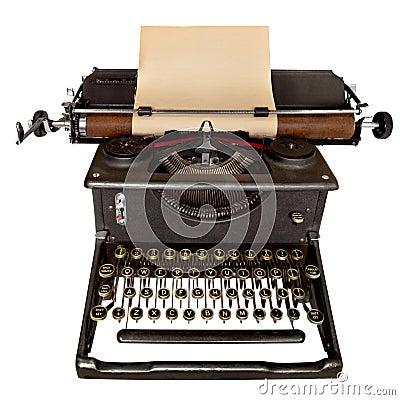 Free Vintage Typewriter Stock Photo - 10868010