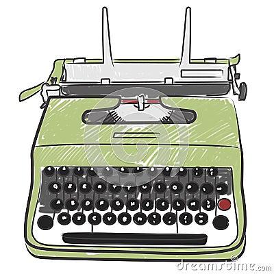 Free Vintage Typewriter Stock Photography - 15925362