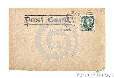 Vintage United States 1907 Postcard