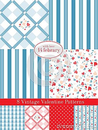 Vintage Valentine Patterns