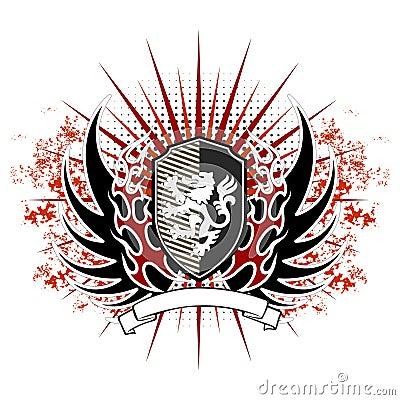 Vintage vector emblem