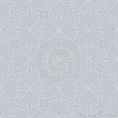 Free Vintage Vector Floral Pattern Design Royalty Free Stock Image - 28456936