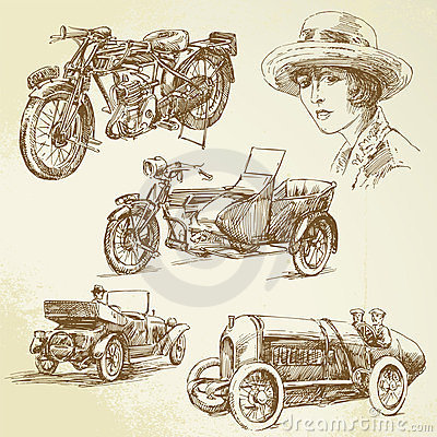 Free Vintage Vehicles Royalty Free Stock Images - 23581249